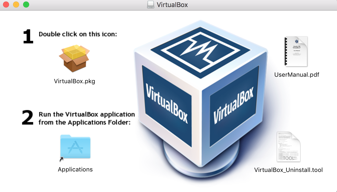 Step 1: Installing VirtualBox in Mac