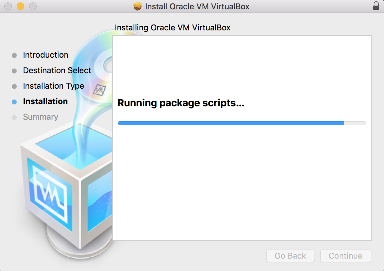 Installing Virtual Box in Mac OS X