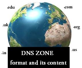 DNZ zone file tutorial