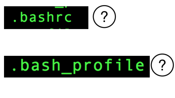 Difference between .bashrc and .bash_profile