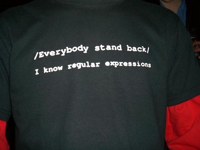 linux regular expressions
