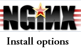 Nginx installation options