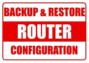 Backup and Restore router configuration file using TFTP