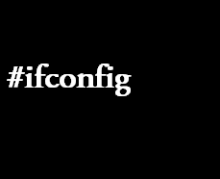 ifconfig command in linux