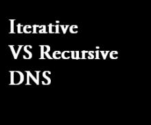 iterative vs recursive dns