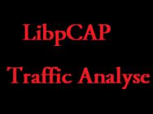 libcap traffic analysis